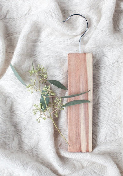 Essential Cedar hang up with Lavender