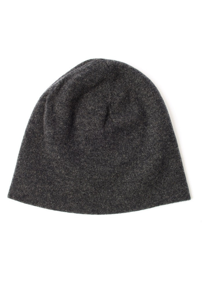 Mens Cashmere Hat in Mushroom - 100% Cashmere, Made in Mongolia