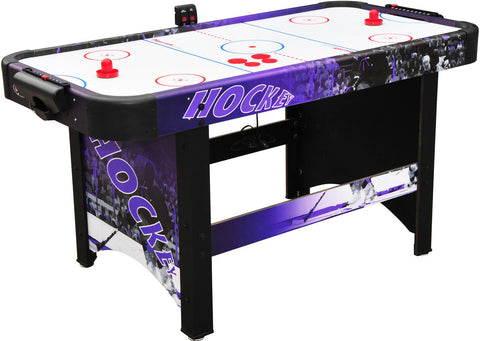 "Playcraft Sport 60"" Air Hockey Table w/ Side Elec Scoring"