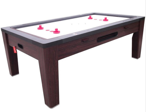 Berner 6-in-1 Multi-Game Table in Walnut