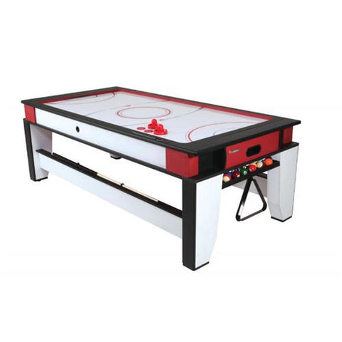 Atomic 2-in-1 Billiard and Air-Powered Hockey Table