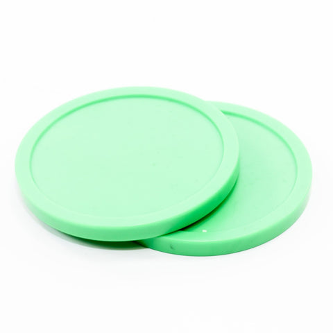 "Imperial  Standard 3 1/4"" Air Hockey Puck, Green (4-pack)"