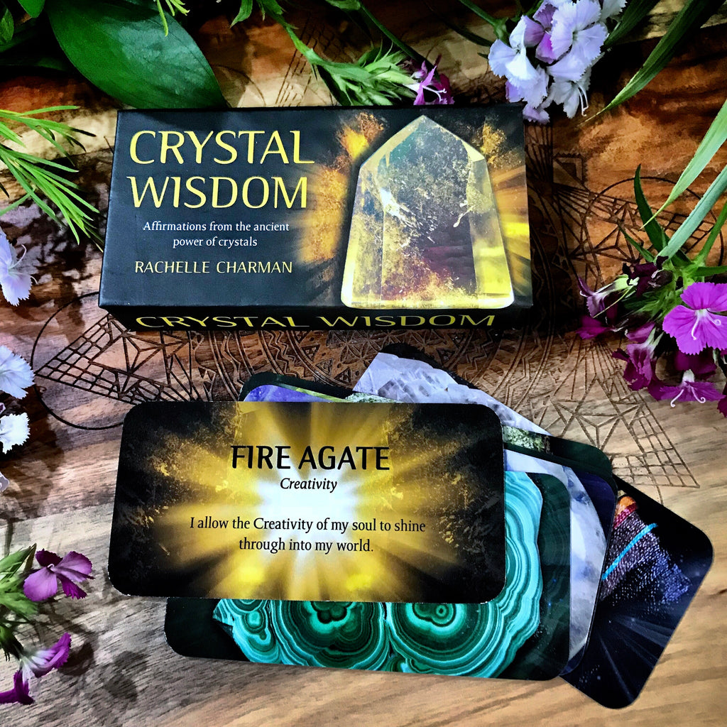 Crystal Wisdom ~ Affirmation Cards