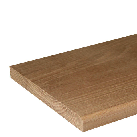 20mm Chamfer Oak Window Sill Board