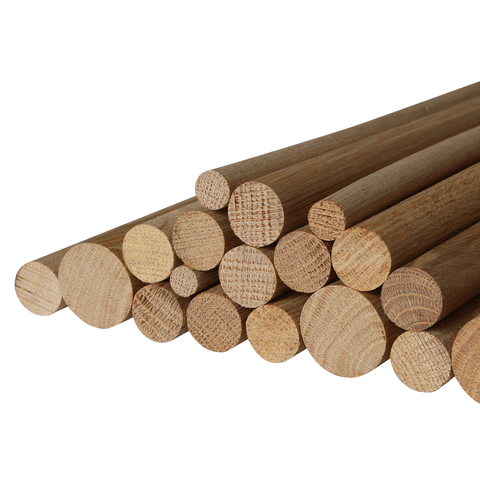 20mm Solid Oak Dowel