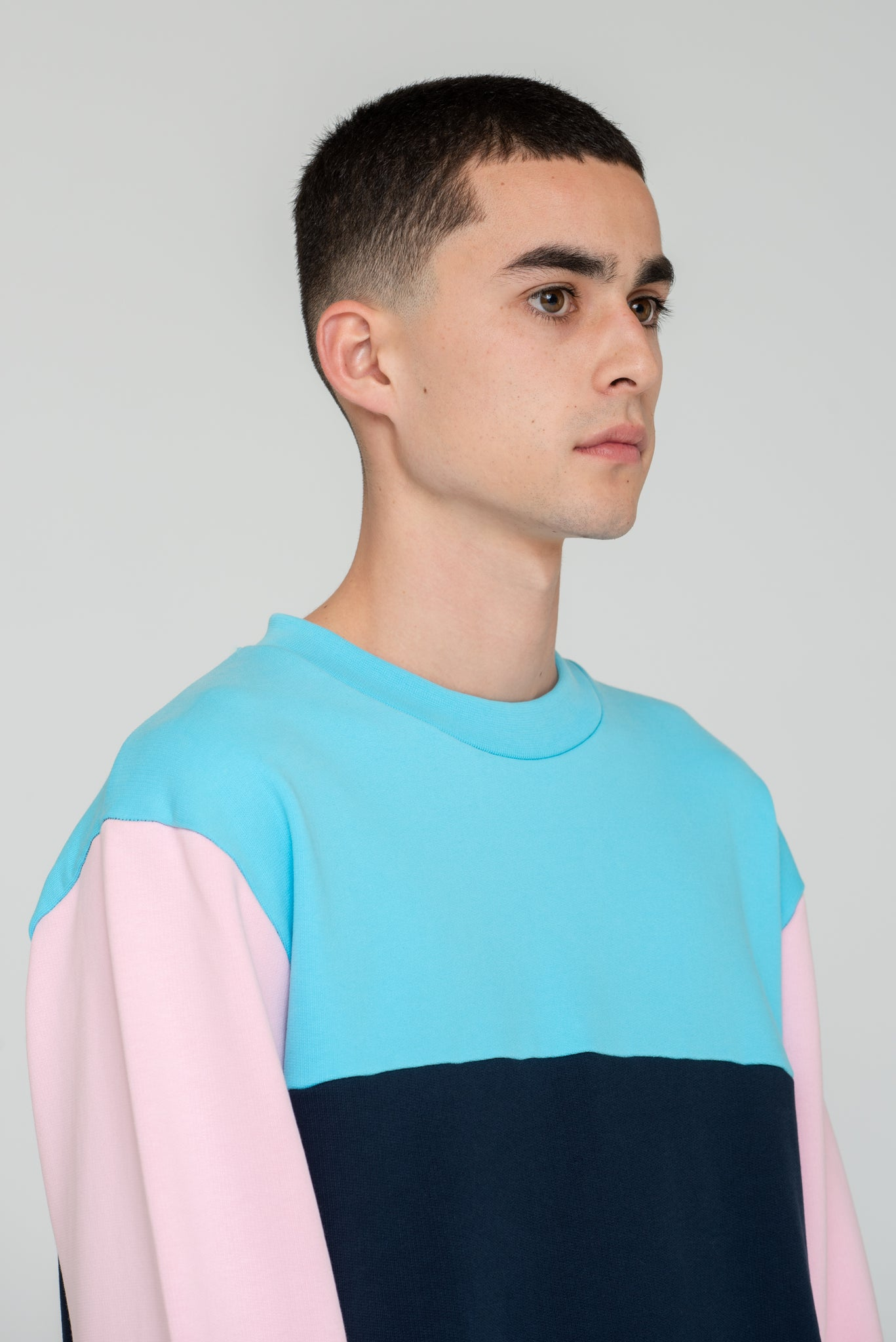 Ken Trio-Color Sweatshirt