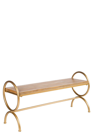 MJ047-Delphine Wood Bench