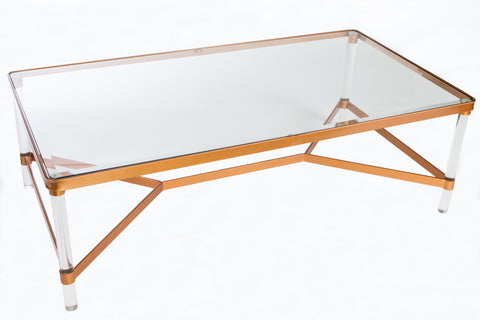 P160266-Mireille Acrylic Coffee Table