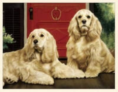 CLEARANCE..Dog Breed Paper COCKER SPANIEL Boxed Notecards 10 per box