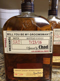 Be my Groomsmen Labels - Made to fit your bottles