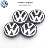 55mm VW Volkswagen Car Wheel Hub Center Caps Blue set of 4 Car Accessories Amazon