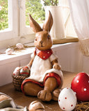 Easter Bunny Sitting Decoration Idea Amazon