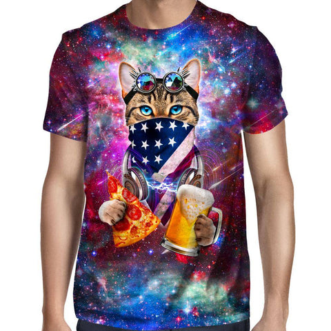 Image of Rave Cat T-Shirt
