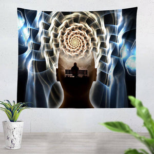 Contemplating Infinity Tapestry