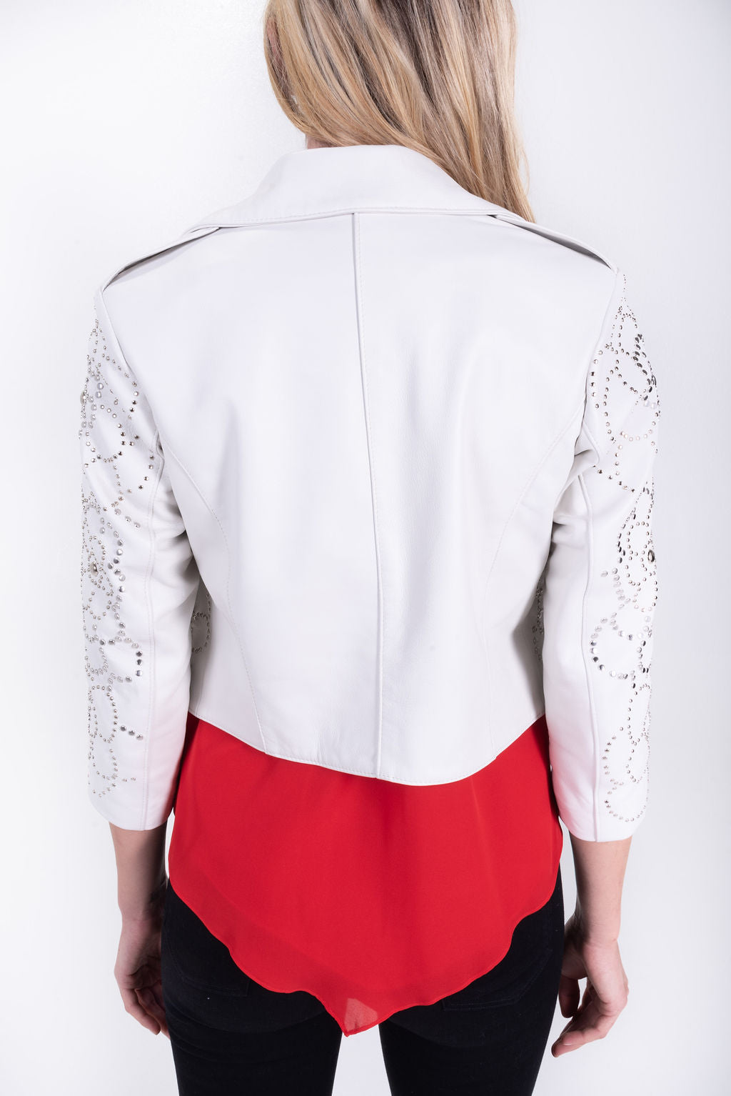 Gardenia Embellished Jacket