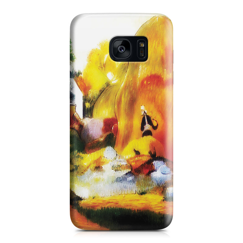 Galaxy S7 Edge Case - Yellow Haystacks (The Golden Harvest) by Paul Gauguin