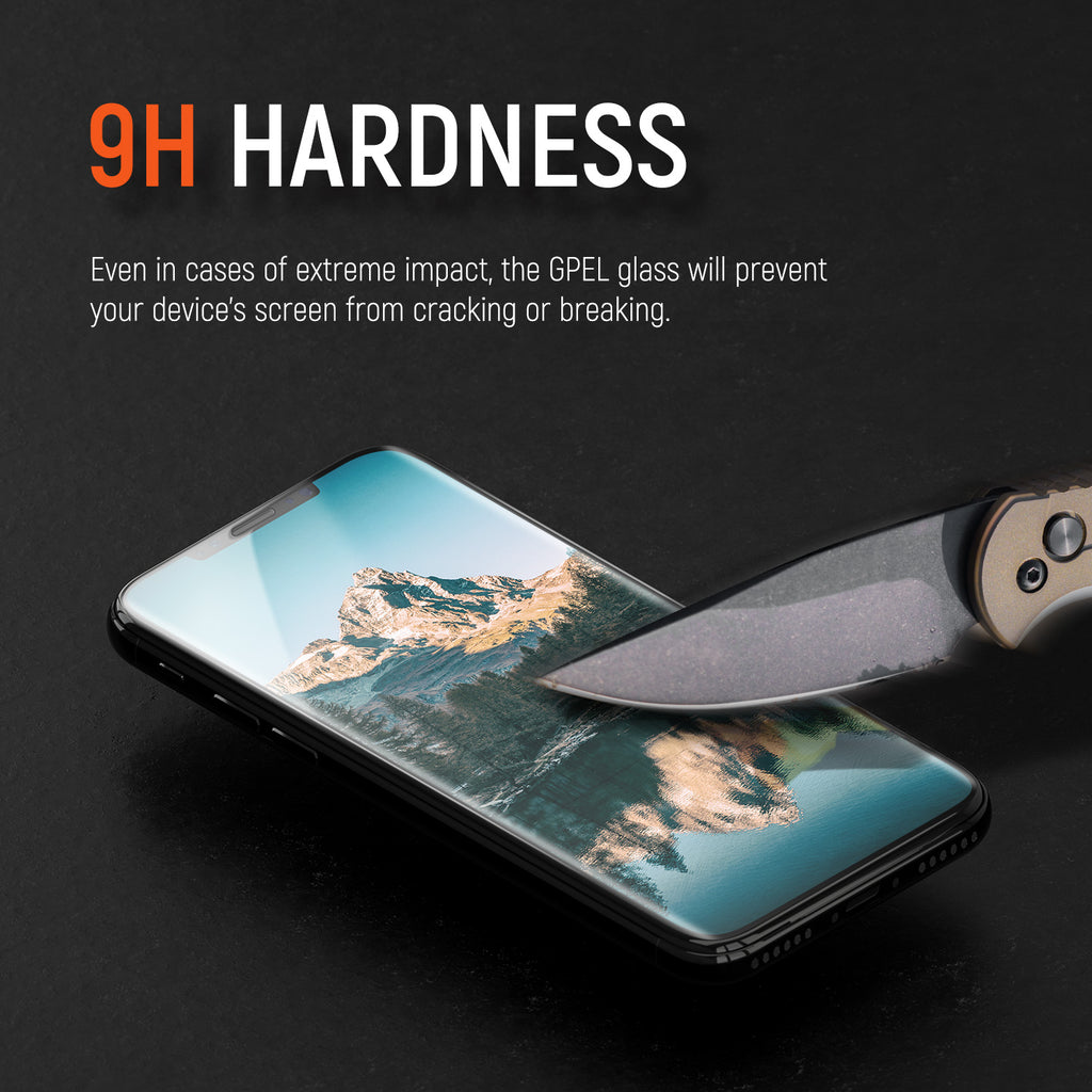 iPhone XS Max Real Tempered Glass Screen Protector - 1 Pack