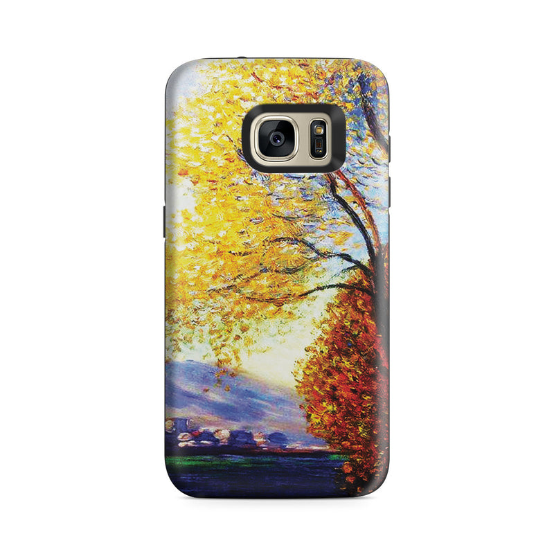 Galaxy S7 Adventure Case - Antibes, View of Salls by Claude Monet