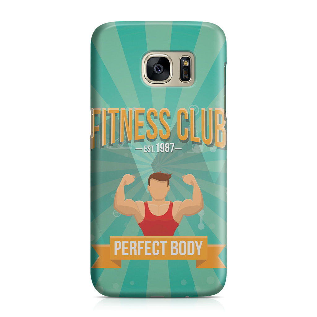 Galaxy S7 Case - Fitness Club