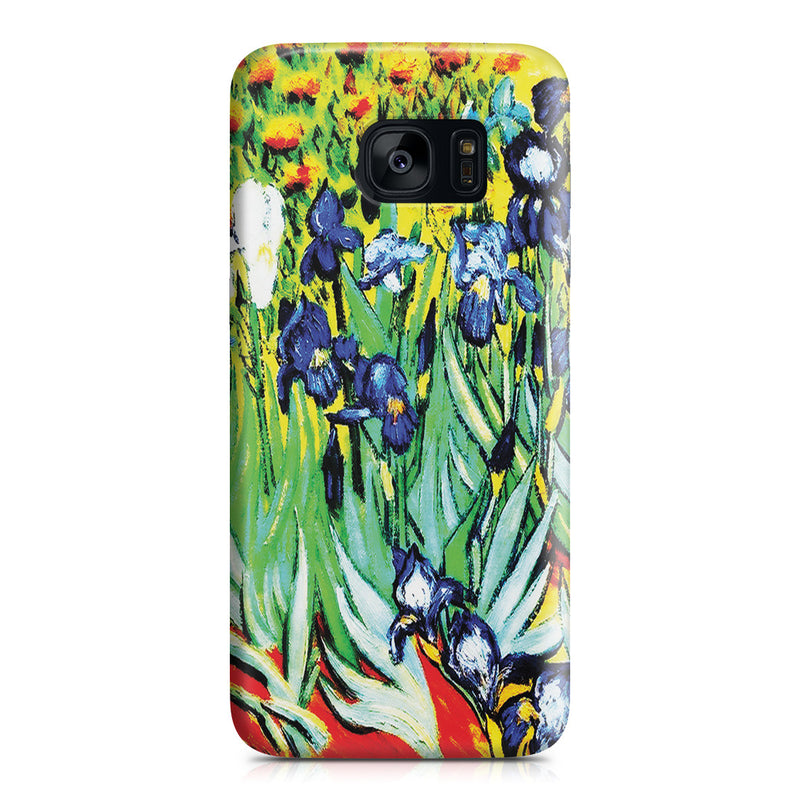 Galaxy S7 Edge Case - Irises by Vincent Van Gogh