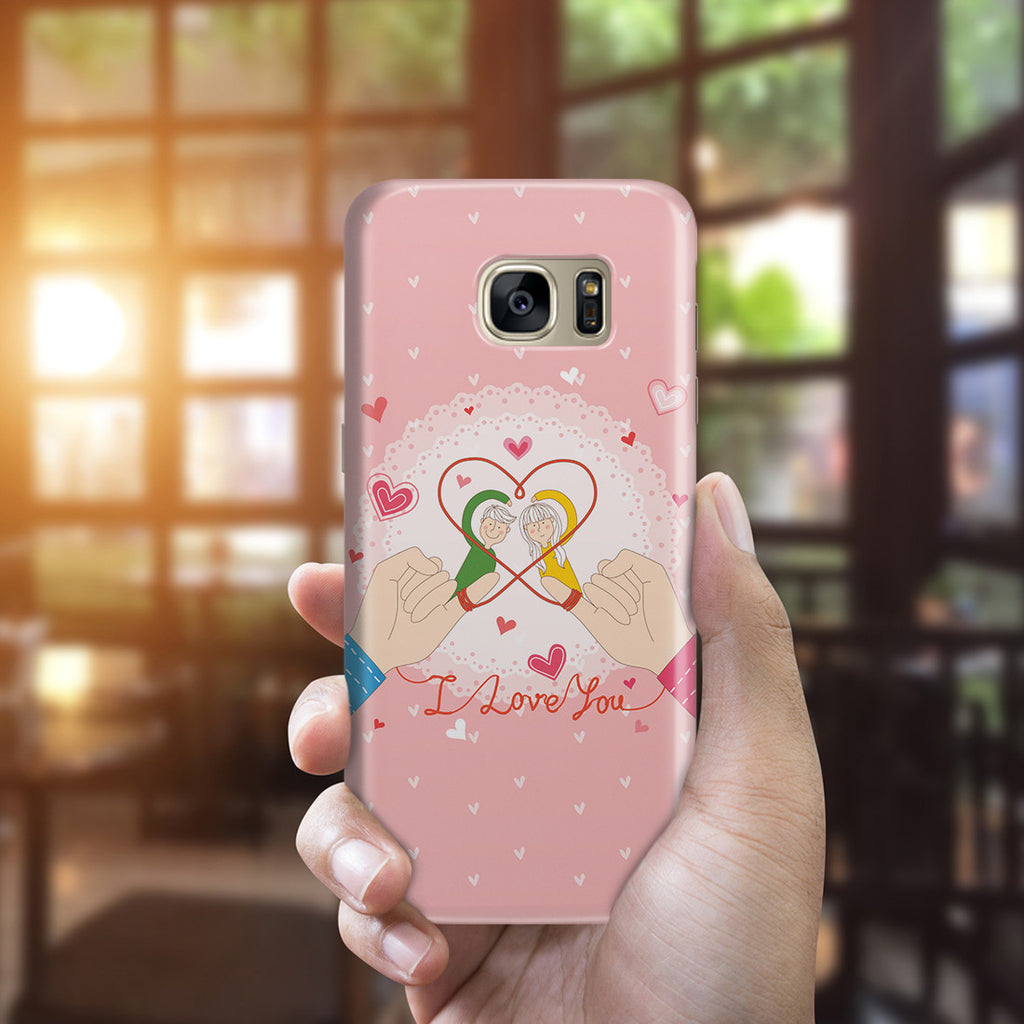 Galaxy S7 Edge Case - Tie the Knot