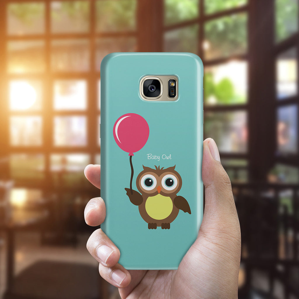 Galaxy S7 Edge Case - Baby Owl