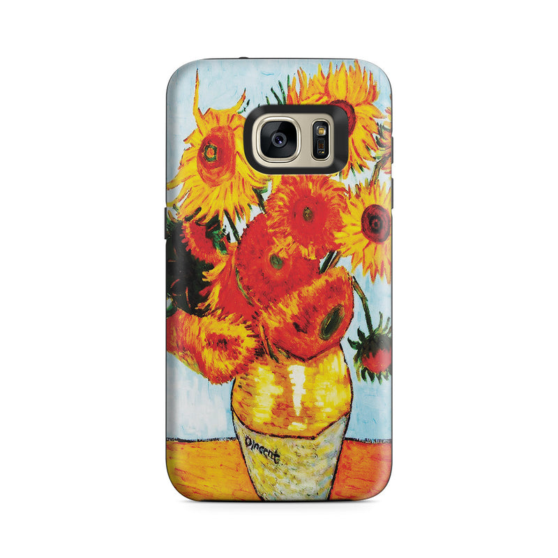 Galaxy S7 Adventure Case - Sunflowers by Vincent Van Gogh