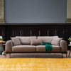 Pre-order60 days delivery Nirvana 3 seater Sofa-bed  NIRV004-lightBrown