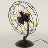 5 heads Industrial Fan Table Lamp   CY-LTD-024 - ebarza