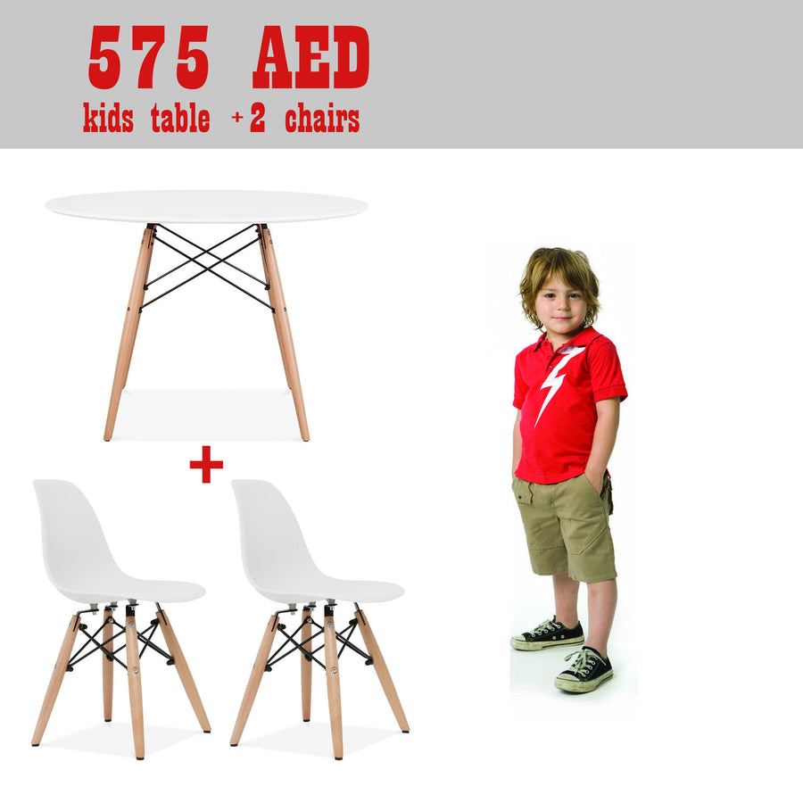 Kids - Promo Set Of Table And 2 Chairs   SET2NA1TPR