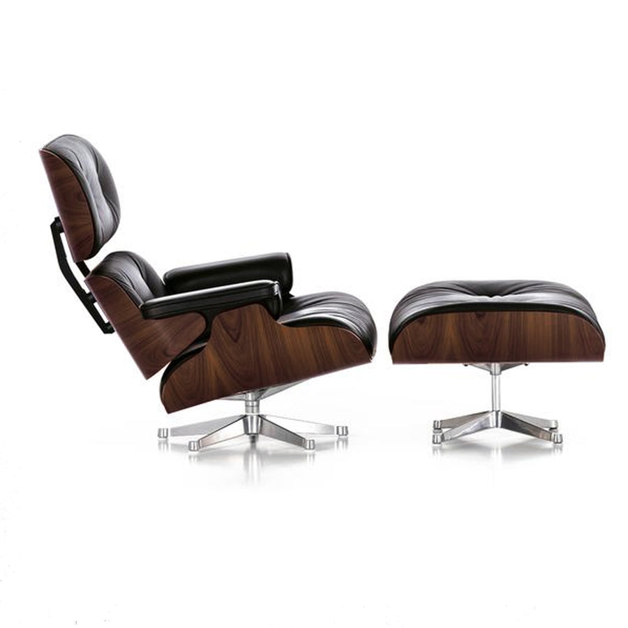Lounge Chair - Lounge Chair And Ottoman Tall BP8026-TRBB+W
