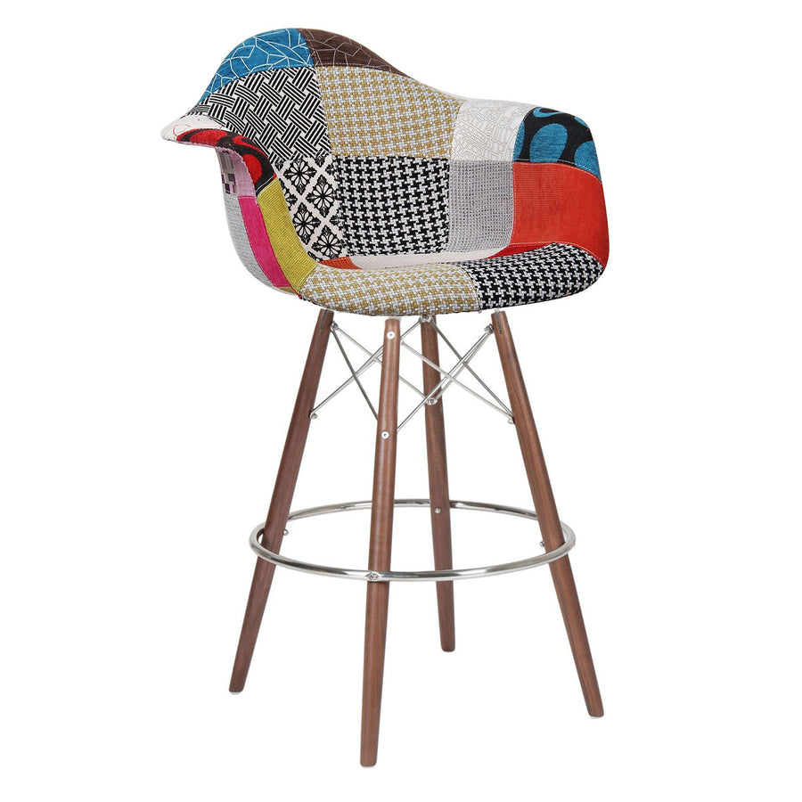 Bar Chair-Fabric- MSB0011F-W - ebarza