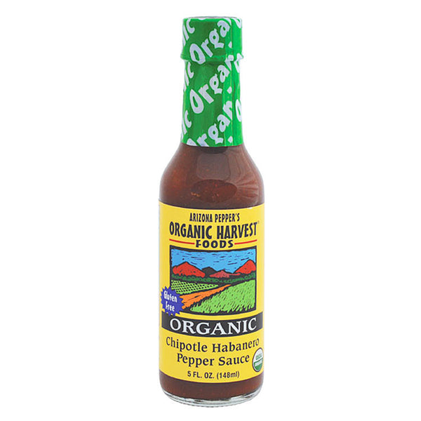 Arizona Pepper's Organic Harvest Chipotle Habanero Pepper Sauce - 148ml