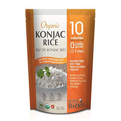Better Than Rice Organic Konjac Rice - 385g
