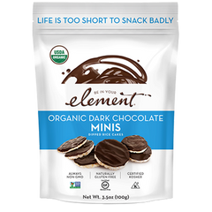 Be In Your Element Dark Chocolate Rice Cake Minis - 100g