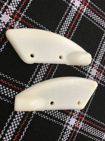 VW MK1 Rabbit Convertible Cabriolet top boot fastener cable covers