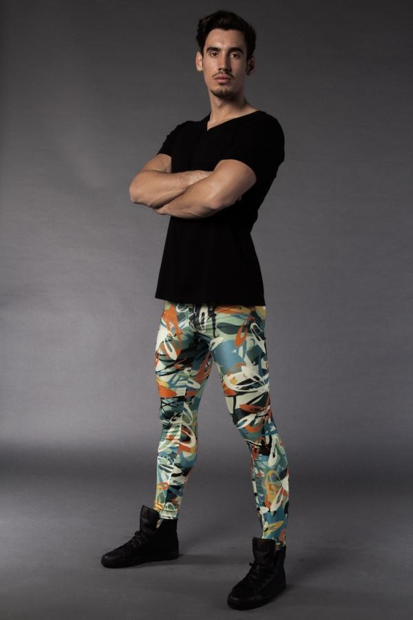 Electric Graffiti meggings