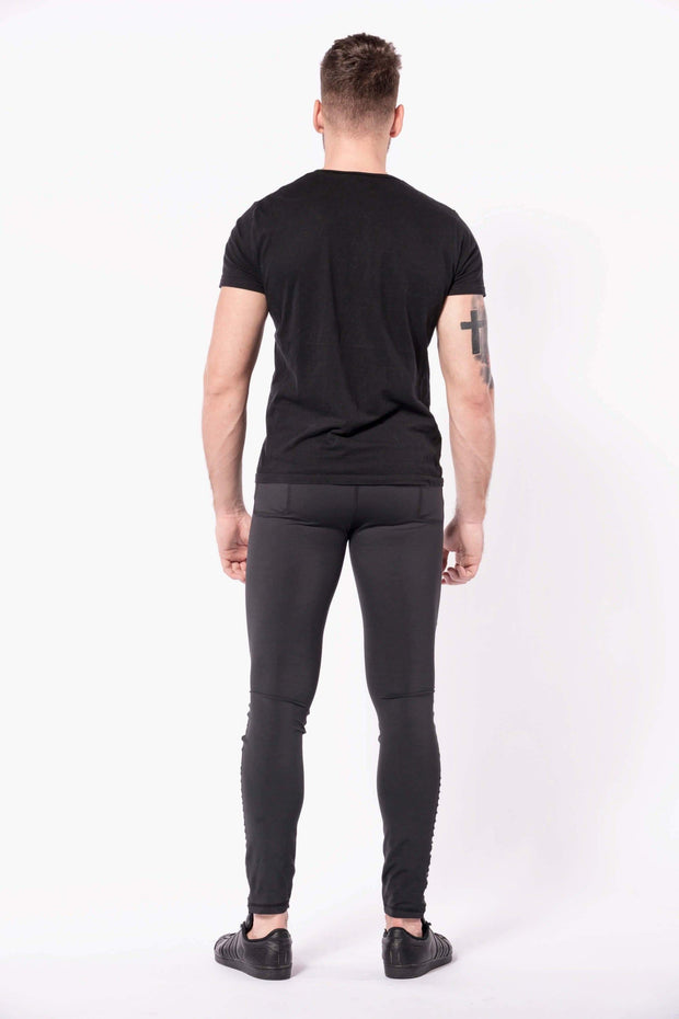 Sabre mens leggings back