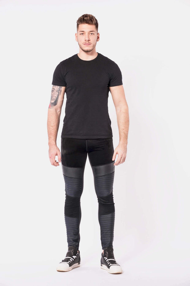 Sabre mens leggings front