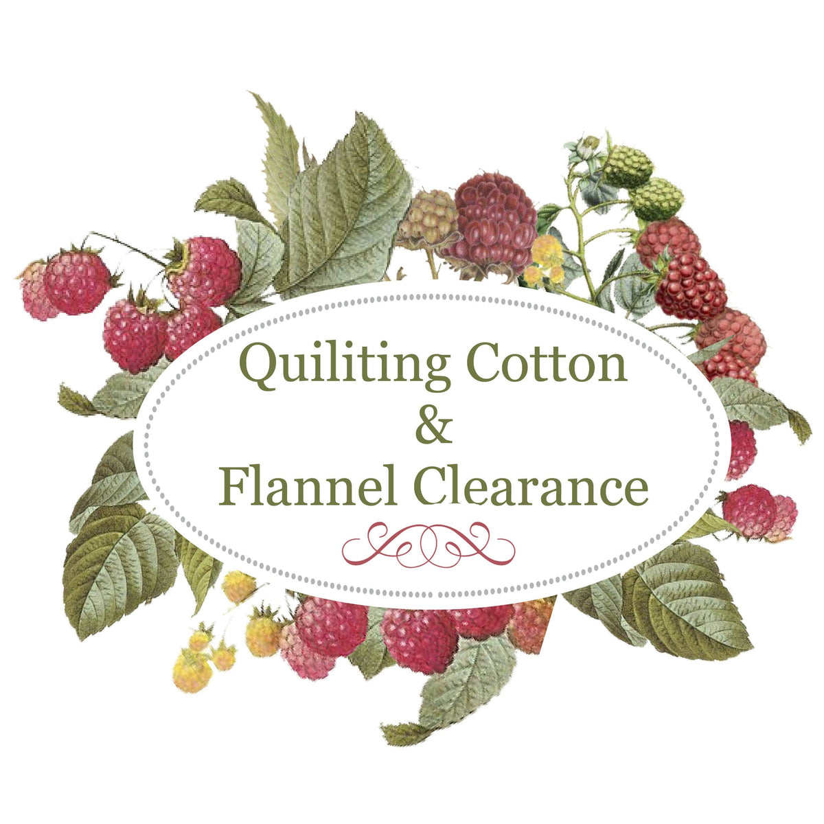 Woven Cotton Flannel Clearance