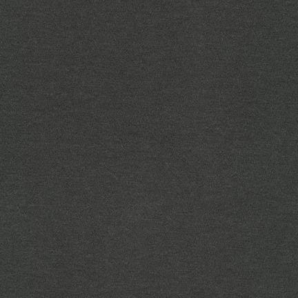 Charcoal Grey Cotton Modal Jersey, Dana Cotton Modal Knit by Robert Kaufman - Raspberry Creek Fabrics