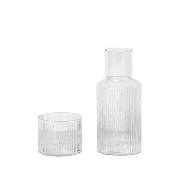 Ripple Carafe Set - indish-design-shop-2