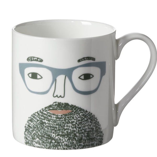 Beardy Man Mug - indish-design-shop-2