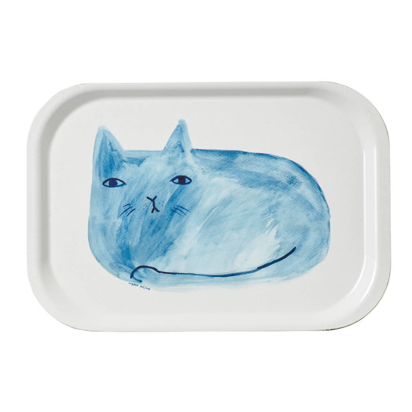 Blue Cat Mini Tray - indish-design-shop-2
