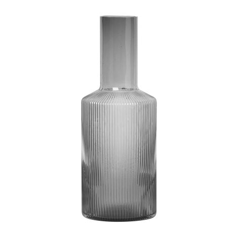Ripple Carafe Smoked Grey - indish-design-shop-2