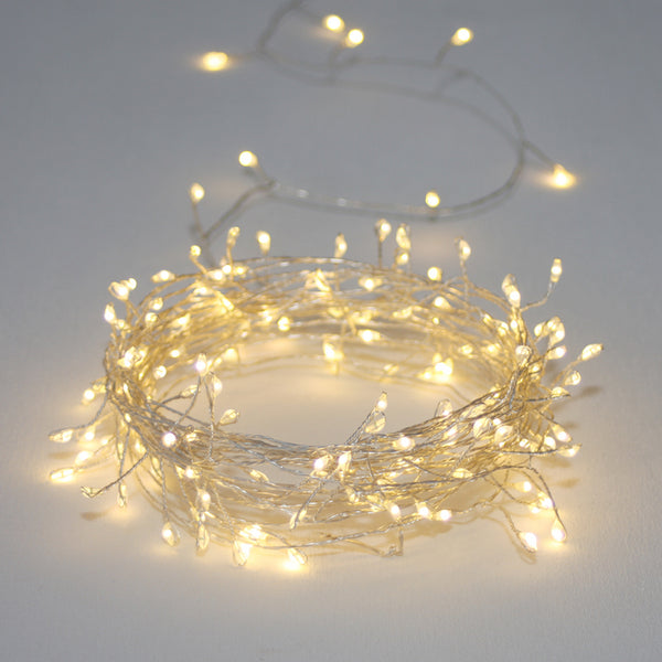 Cluster Light Chain Silver - indish-design-shop-2
