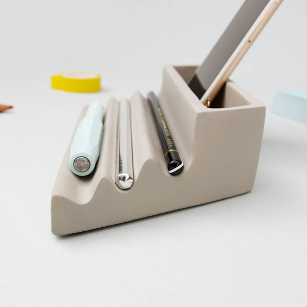 Concrete Pen Tray - indish-design-shop-2