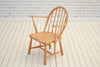 Two Ercol Stick back children's armchairs/Kitchen chair