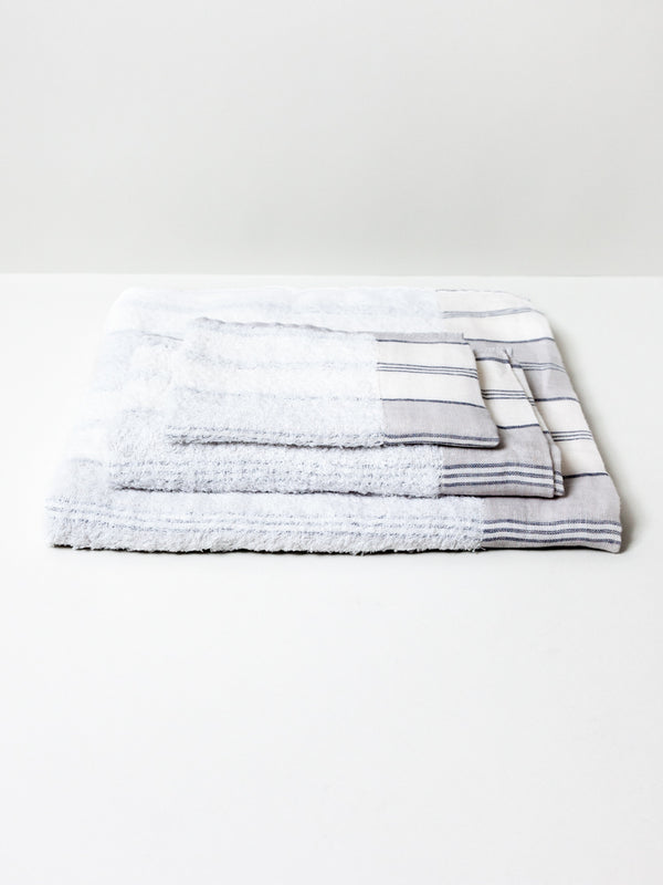 Lola Towel, Grey Stripe