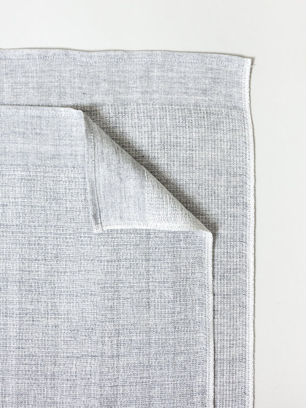 Moku Linen Towel, Charcoal